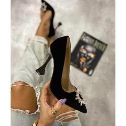 Pantofi Eden Black