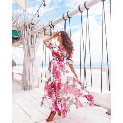 Rochie Carmen pink