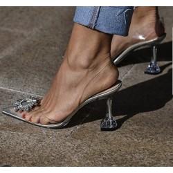 Pantofi Edessa Clear