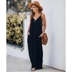 Rochie din jerse black