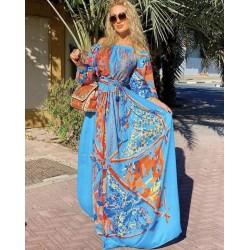 Rochie blue Diva