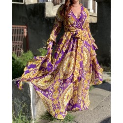 Rochie lunga Imperia Purple