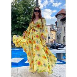 Rochie lunga Sun Flower