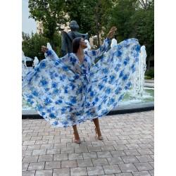 Rochie lunga Armonia Blue