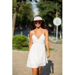 Fashion summer vizor lace