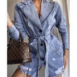 Geaca jeans fashion on